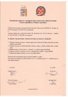 """Text : Mezinárodní smlouva o spolupráci mezi """"AZKS"""" a """"PSLSK"""" (podepsána dne 25.4.2012)"""
