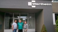 Pracovní jednání na Slovensku s firmou Wertheim-výroba trezorů dne 23.5.2012
