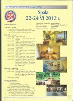 """Členové """"AZKS"""" na """"Společenském setkání v Polsku - Spala"""" ve dnech 23.-24.6.2012."""