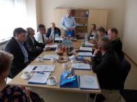 """Pracovní jednání s """"PSLSK"""" a """"AZKS"""" v Poznani dne 28.6.2013."""