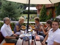Společný oběd Beskydy
