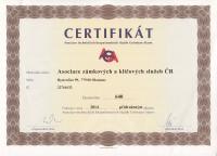 Certifikát AGA