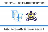 European Locksmith Federation - Convent ELF Dublin 2015