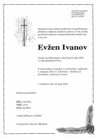Poslední rozloučení s Evženem Ivanovem